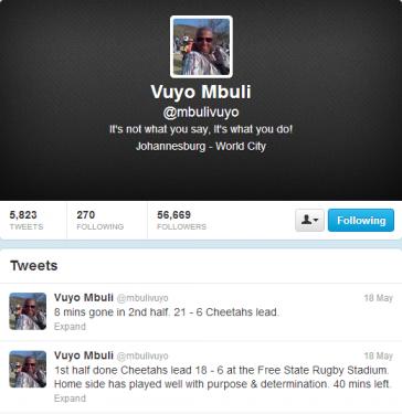 Vuyo Mbuli (mbulivuyo) on Twitter