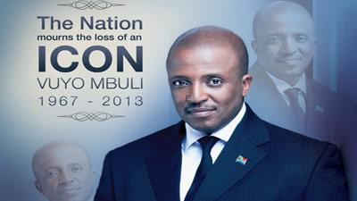 Vuyo Mbuli in memoriam