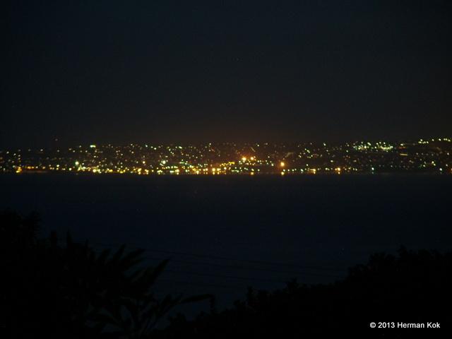 Mossel Bay at night