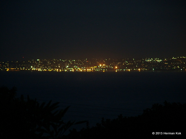 Mossel Bay at night