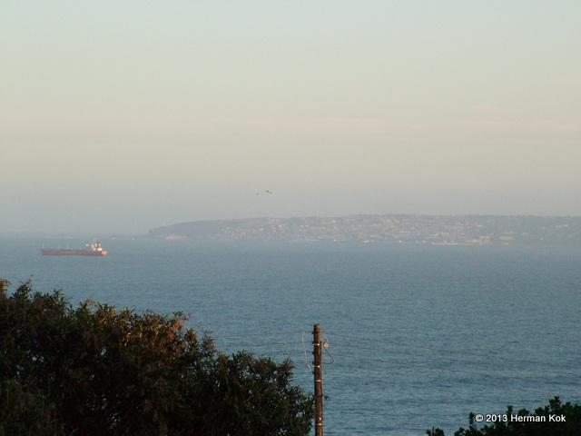 Mosselbaai South Africa across the bay