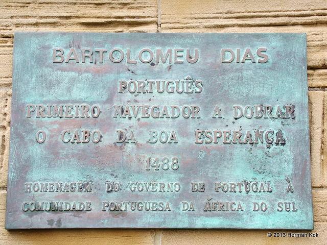 Bartolomeu Dias Plaque