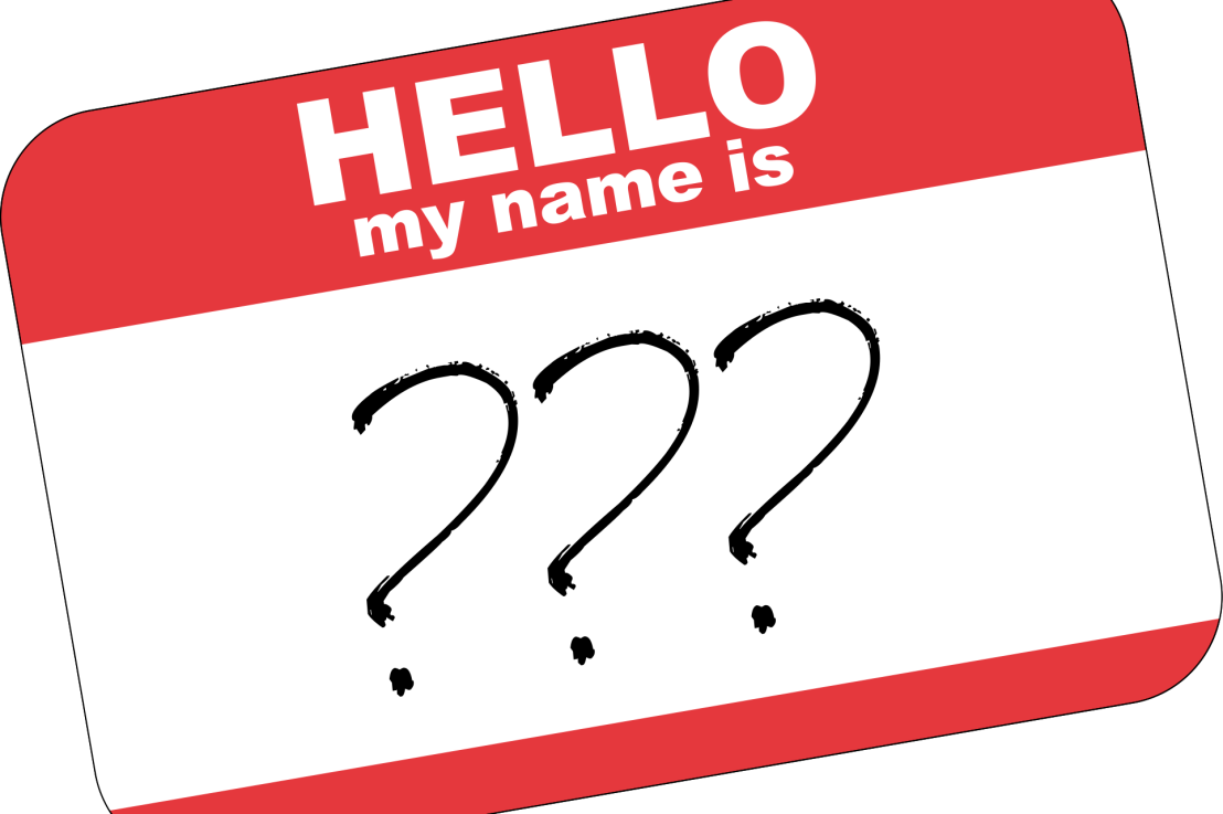 On names (and what they smelllike)