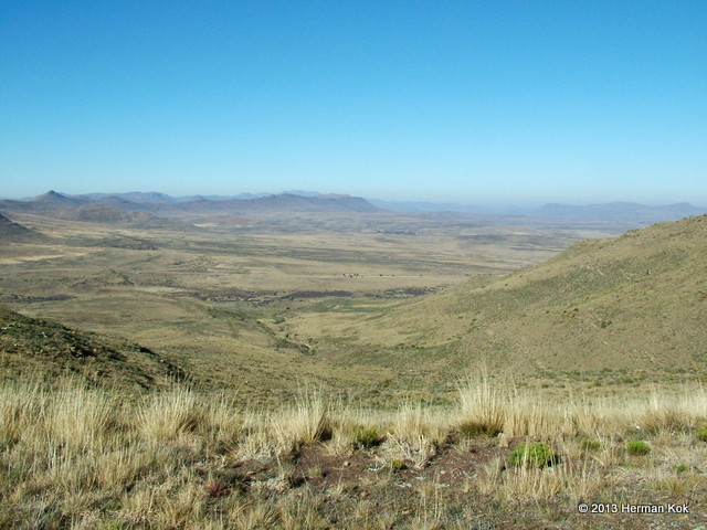 View from Lootsberg Pass