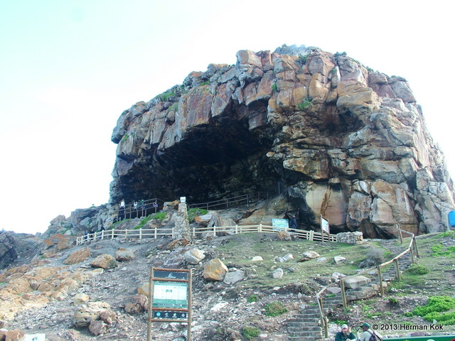 Overhang at Mossel Bay