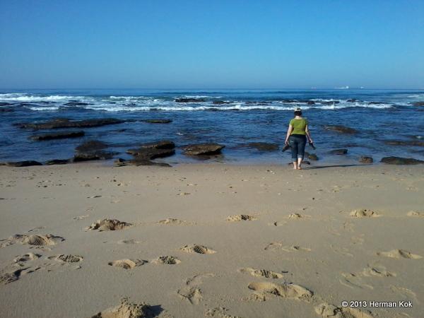 Reebok South Africa beach