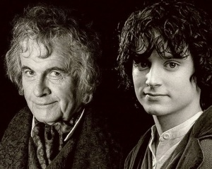 Bilbo and Frodo Baggins