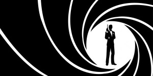 James Bond gunbarrel logo