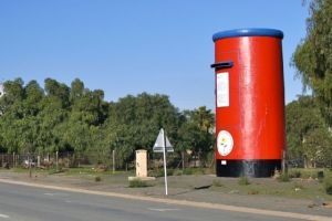 Giant post box Calvinia, South Africa