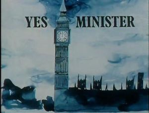 Yes Minister title card