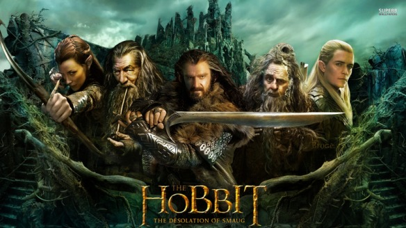 The Hobbit Desolation of Smaug poster