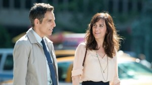 Ben Stiller and Kristen Wigg in The Secret Life of Walter Mitty
