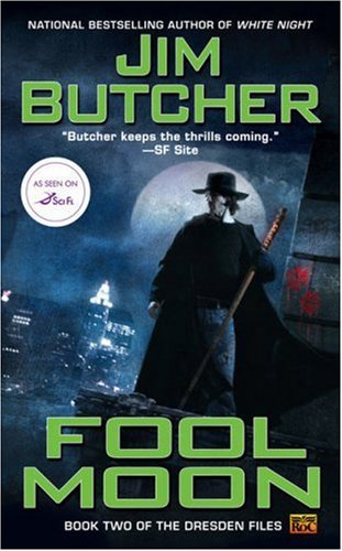 Fool Moon by Jim Butcher book cover