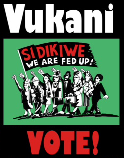 "Vukani means ""Wake Up!"" Image links to the campaign website"