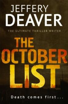 The October List - Jeffrey Deaver