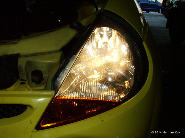 Ford Ka Headlight