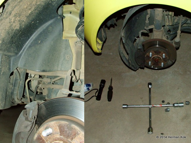 Ford Ka Wheel Well