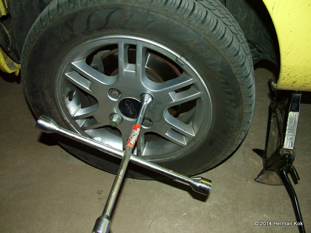 Ford Ka Wheel