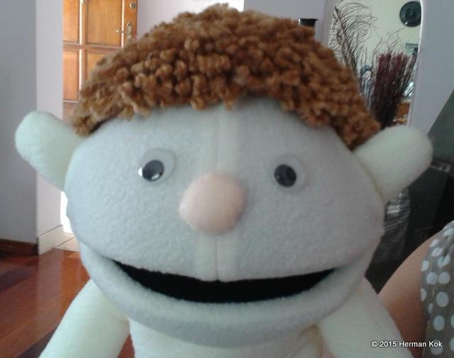 Boy puppet
