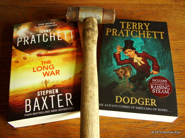 The Long War and Dodger book covers