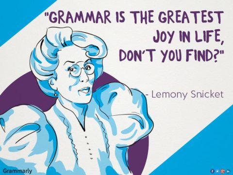 Pedan't Grammarian
