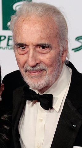Rock on, Christopher Lee