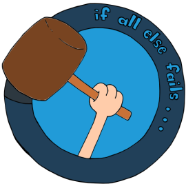 if all else fails Logo