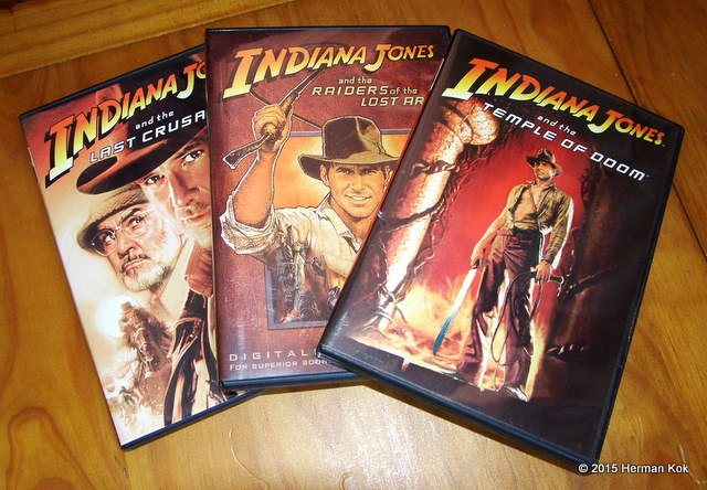 Indiana Jones DVDs